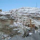 Alcalá del Júcar nevado